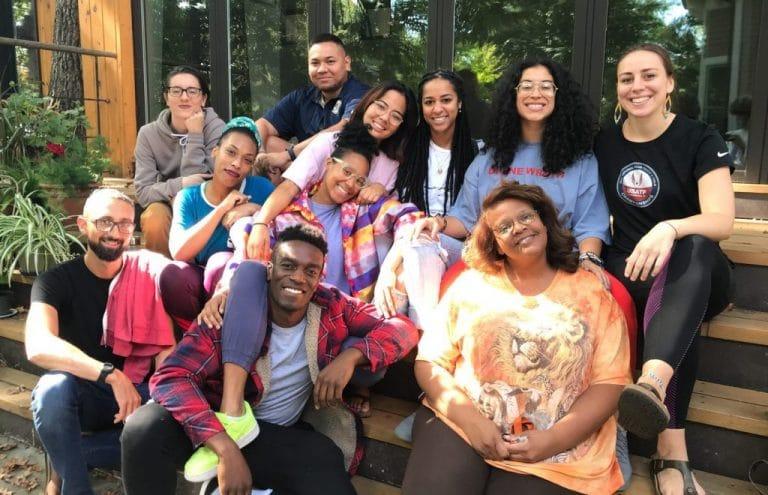 Members of Black Lotus Collective