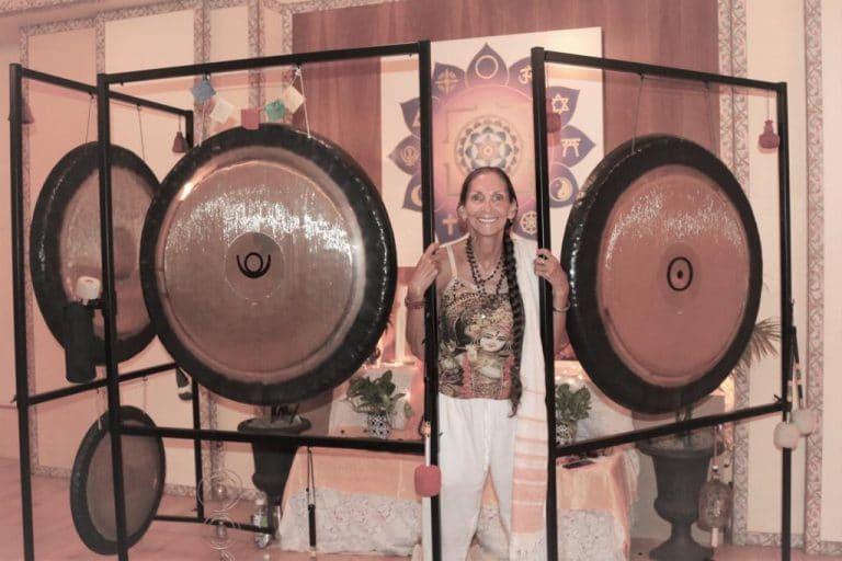 Reverend Laksmi Scalise at Integral Yoga Institute, New York City
